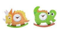 Часы настольные качалка динозаврики, микс