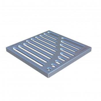 Решётка водоприёмная штампованная стальная оцинкованная вершина