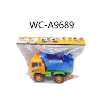 Машинка- конструктор грузовик, в наборе с инструментами, в пак
