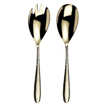 Набор из ложки и вилки для салата arthur price шампань. мираж. монсун п/к
