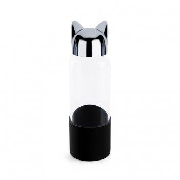 Бутылка для воды cat 0.35л черная