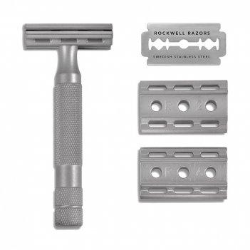 Т-образная бритва rockwell 6s, нержавеющая сталь