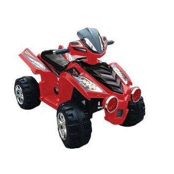 Электроквадроцикл цвет красный новинка 2014 года