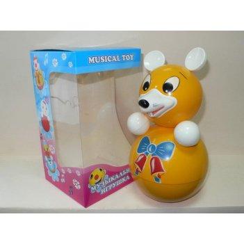 Неваляшка мышка (21см) в упаковке (россия)