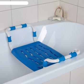 Сиденье в ванну  раздвижное св5  синий