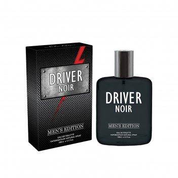 Туалетная вода мужская driver noir, 100 мл