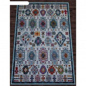 Прямоугольный ковёр crystal c069, 240x340 см, цвет multicolor