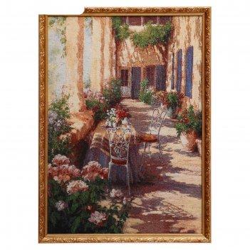 Гобеленовая картина итальянский дворик