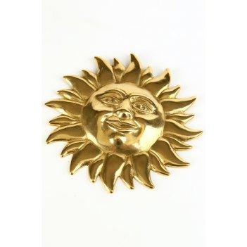 Настенное украшение солнце среднее d 14 см