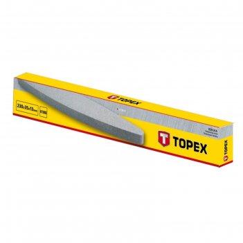Брусок точильный topex 17b818, лодочка, 230x35x13 мм, зернистость к180