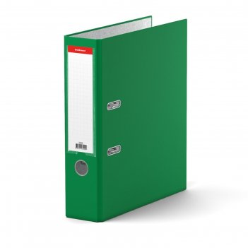 Папка-регистратор а4, 70 мм, granite, разборный, зелёный, пластиковый карм
