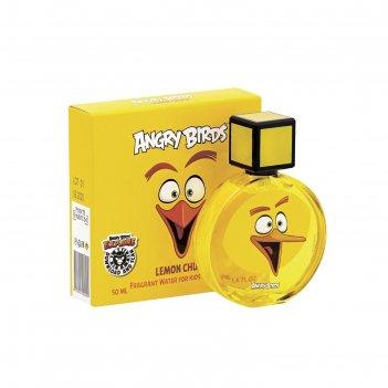 Душистая вода для детей angry birds lemon chuck/чак лимон, 50 мл