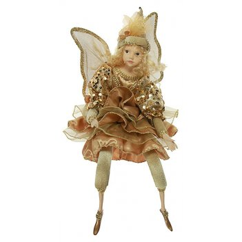 Фигурка интерьерная - кукла декоративная эльф 41см