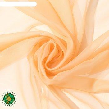 Тюль «этель» 290x300 см, цвет бежевый, вуаль, 100% п/э
