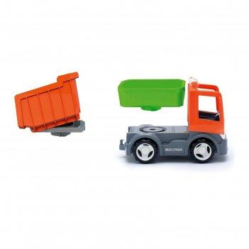 Игрушка грузовик, со сменным кузовом