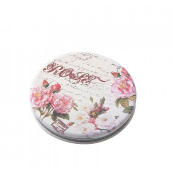 Зеркало dewal beauty серия классическая мода карманное круглое