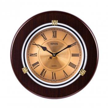 Настенные часы sinix 1018gr