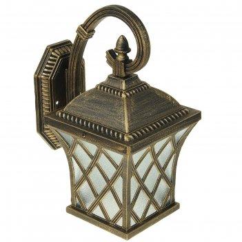 Светильник tdm садово-парковый прованс 100 вт, вниз, шагрень/бронза е27, s