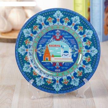 Тарелка декоративная «казань»