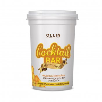 Крем-кондиционер для эластичности волос ollin professional cocktail bar, м