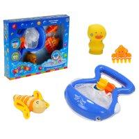 Игрушка для ванной веселая рыбалка с китенком