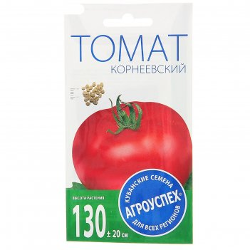 Семена томат корнеевский, средний, розовый, высокорослый, 0,1 гр