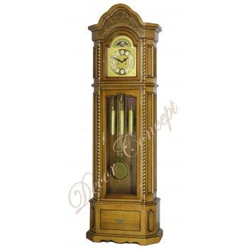 Часы напольные columbus cr-9089-pd «замок шенонсо»