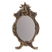 Зеркало настольное на подставке антилиас