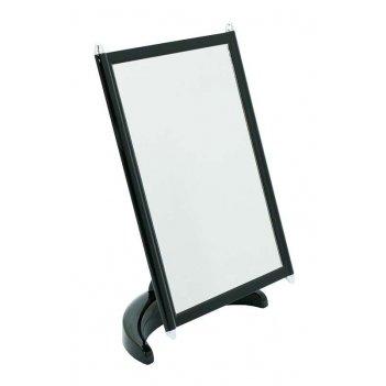 Зеркало psm 002 blk/c black наст. квадр.17х22 см (3/12)