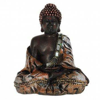 Фигурка декоративная будда, l11 w7 h13,5 см