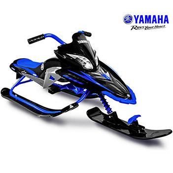 Ym13001 снегокат yamaha apex snow bike titanium black/blue