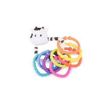 Погремушка moo-ring