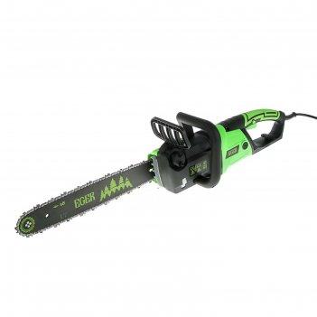Пила электрическая цепная eger пэц-2316-01 2300 вт, шина 16/400 мм