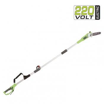 Высоторез – cучкорез электрический 20 см greenworks 720w gps7220, садовая