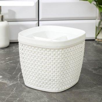 Сушилка для столовых приборов «пирула», цвет белый