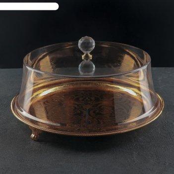 Тортовница с крышкой, 37x22 см, (d десерта до 29 см)
