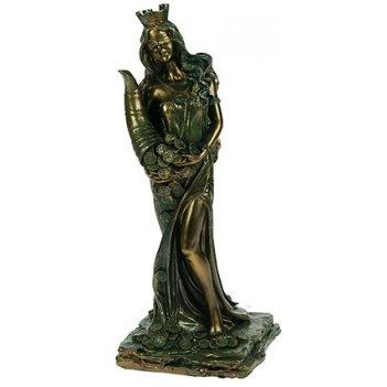 Статуэтка римская богиня счастья и удачи - фортуна 20см