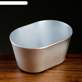 Форма хлебная 18,5х13х9,5 см, овал