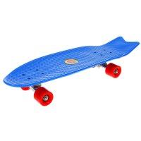 Скейтборд 28от, размер 68,5x21 см, колеса pu d= 60*45 мм, алюмин. рама