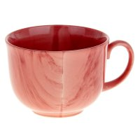 Бульонница аппетитка 0,5л радуга розовая