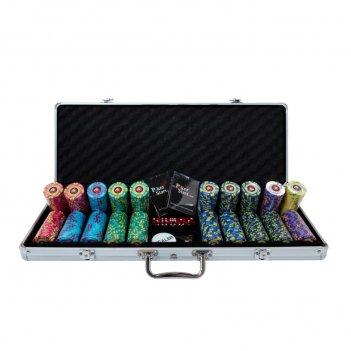 Набор для покера ept на 500 фишек