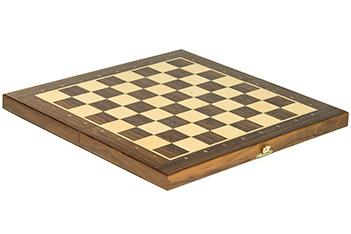 Складной кейс для шахматных фигур woodgame орех 40мм, 40х40см