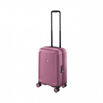 Чемодан victorinox connex, пурпурно-розовый, поликарбонат makrolon, 35x23x