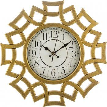 Часы настенные кварцевые italian style 41*36*5 см.диаметр циферблата=17 см