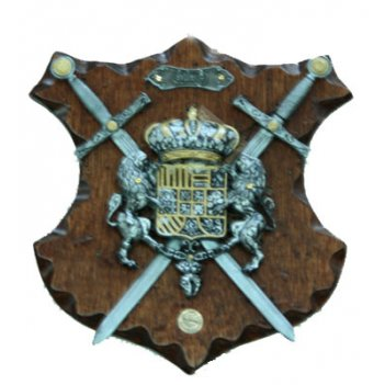 Коллаж рыцарские трофеи 20*23см 31713