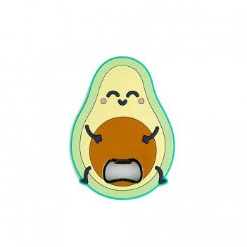 Открывалка avocado магнитная