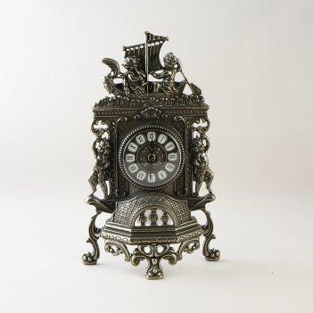 Часы  корабль ,  (плоские) (al-82-100-ant)