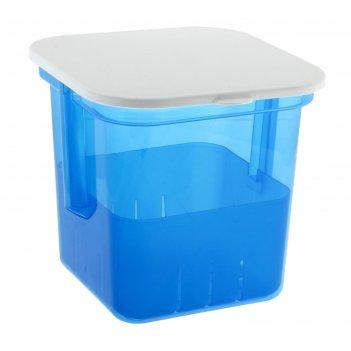 Банка для солений 3 л, цвет синий