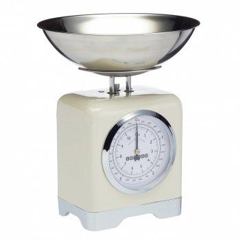 Kitchen craft весы кухонные механические lovello retro cream