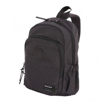 """Рюкзак из ткани grey heather с отделением для ноутбука 13"""" (12 л) wen"""